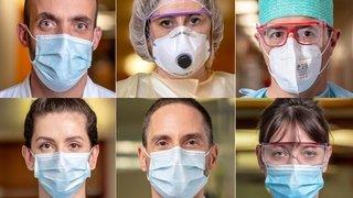Coronavirus: en Valais, ils luttent au front depuis des mois. Aujourd'hui, ils tombent le masque et nous racontent