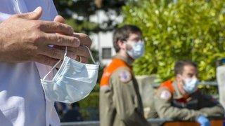 Coronavirus: les images de ce Valais qui vit au rythme de l'épidémie depuis un mois