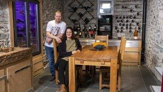 Un jeune couple crée la maison de ses rêves en Valais