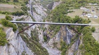 Pont sur la Dala: l'idée brillante d'un ingénieur