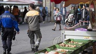 Coronavirus: les marchés rouvrent partiellement à Lausanne