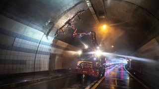 Chaque printemps, les tunnels valaisans sont fermés 3 ou 4 jours. On vous explique pourquoi