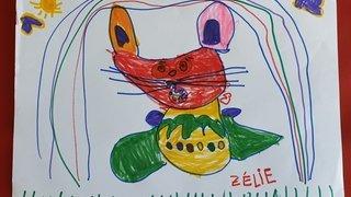 Zélie, 4 ans - Martigny
