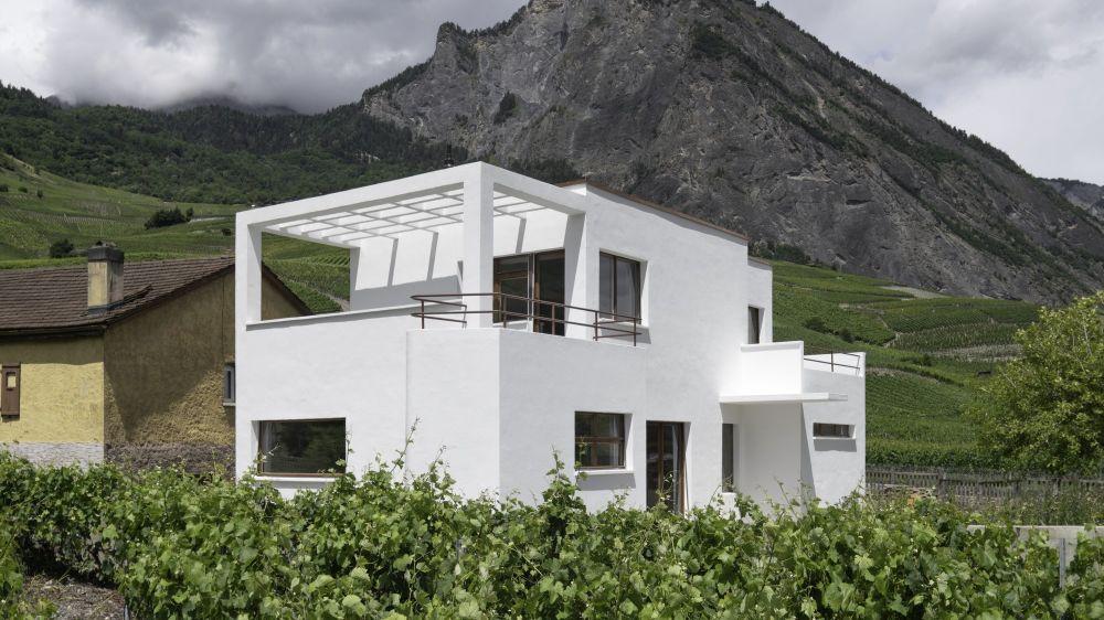 Architecture et Patrimoine du XXe siècle en Valais: Habitats individuels