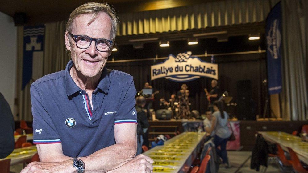 L'ancien champion du monde WRC, Ari Vatanen a prouvé une fois son attachement au Rallye du Chablais.