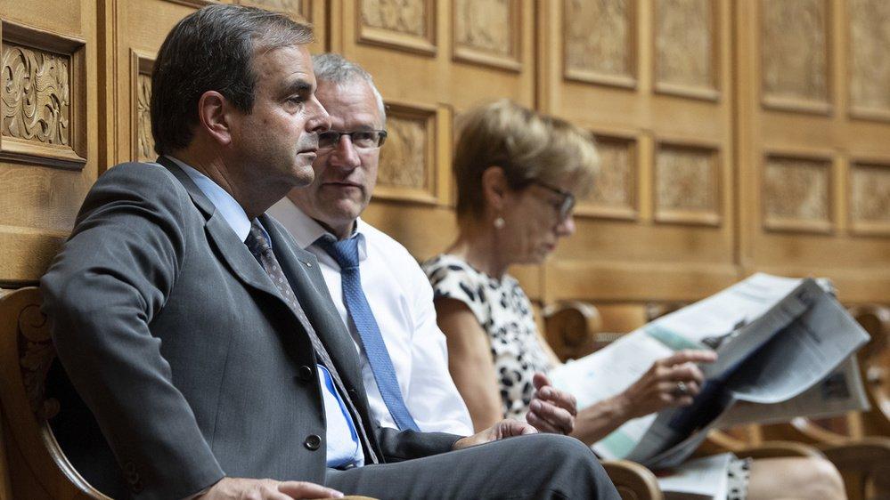 Les élus fédéraux PDC, à l'instar de Benjamin Roduit, ne partagent pas la vision du président du PDC suisse, Gerhard Pfister.