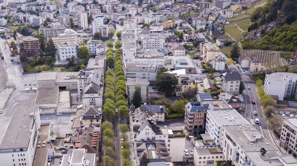 Sierre poursuit ses efforts en faveur d'une ville neutre en carbone.