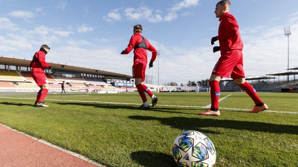 Le FC Sion avait affronté Lausanne-Sports en match amical le 13mars à huis clos au stade de la Pontaise. Un avant-goût des futures rencontres de championnat.