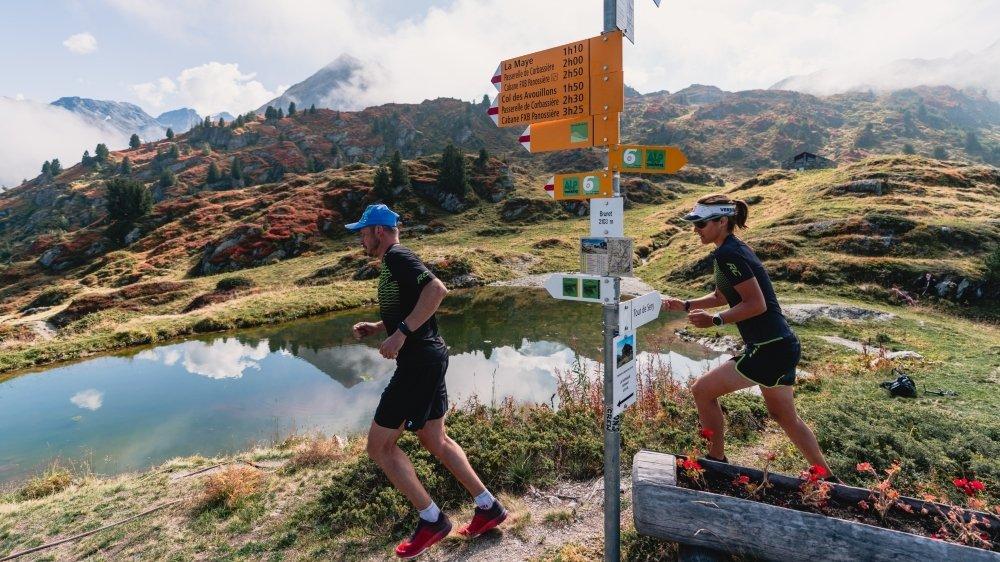415 kilomètres sont désormais balisés spécifiquement pour le trail en Entremont.