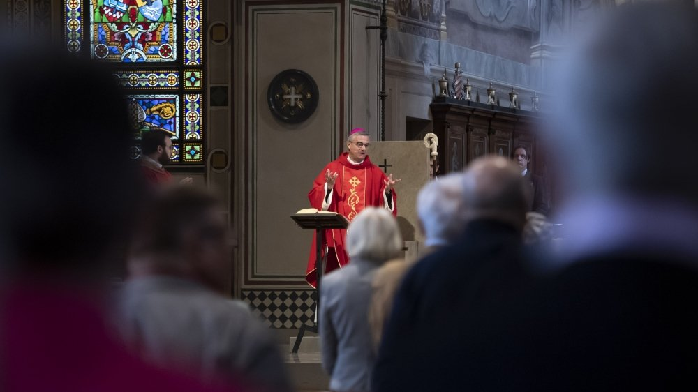 L'évêque de Lugano Valerio Lazzeri a eu connaissance du cas le 11 mars.