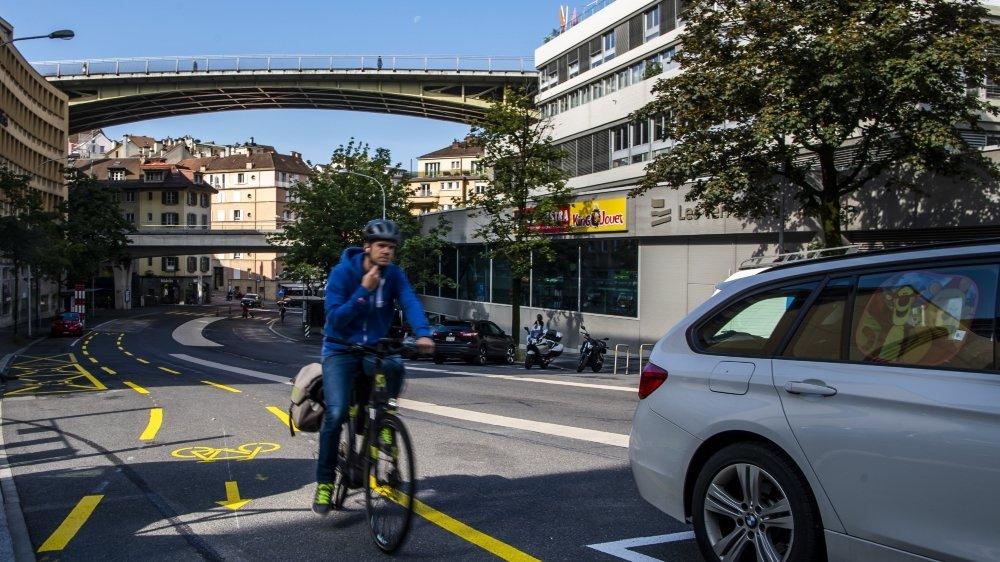 Le vélo prend ses aises