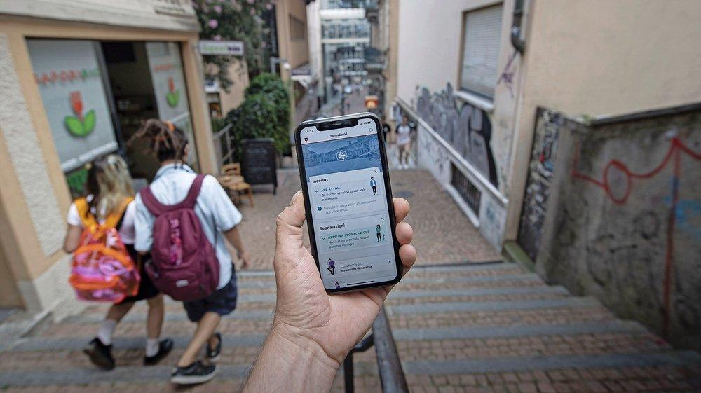 L'app SwissCovid a été installée par près de 570'000 personnes en un peu plus de 24 heures. (Illustration)