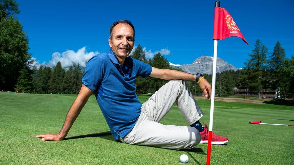 Elu «meilleur enseignant francophone de golf» Stéphane Barras se décrit comme un scientifique de sa discipline.