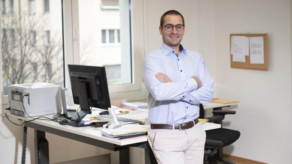 Arnaud Schaller, directeur de l'AVALEMS.