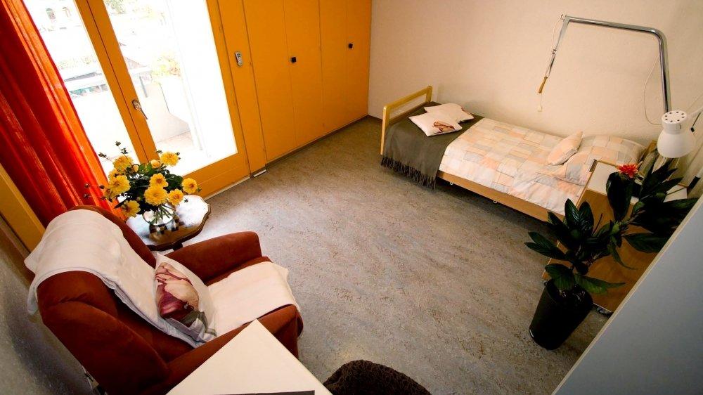 Plusieurs chambres sont encore inoccupées dans certains homes du canton.
