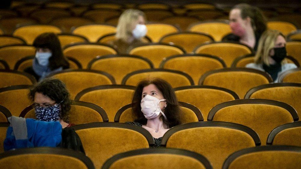 Durant les semaines à venir, c'est à cela que vont ressembler les salles de cinéma.