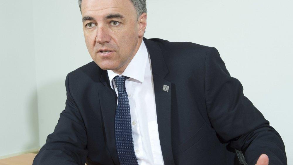 Christophe Darbellay, conseiller d'Etat chargé de l'économie et président du gouvernement valaisan, explique comment fonctionnent les aides de l'Etat.