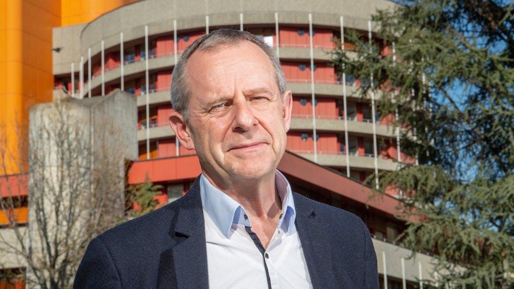 Eric Bonvin, directeur général de l'Hôpital du Valais.