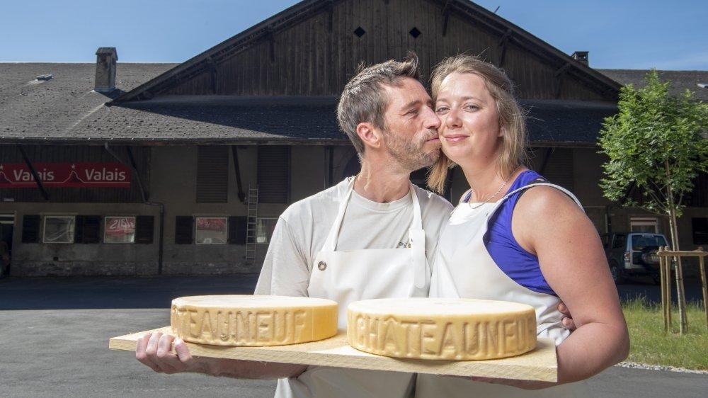 Une formation par amour du fromage pour Frédéric Grialou et Martina Cervenka.