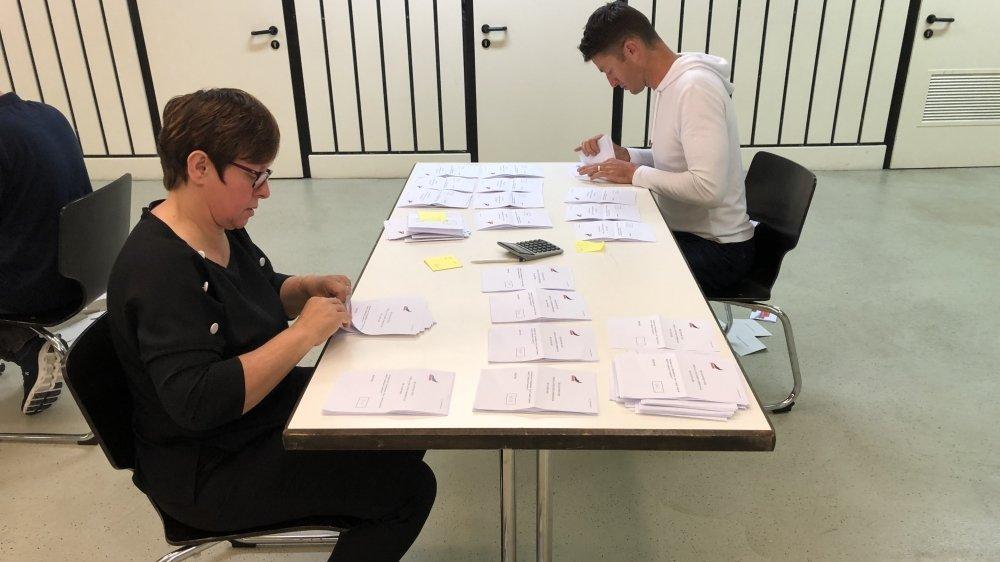 60% des citoyens d'Anniviers ont voté au sujet de l'instauration ou non d'un Conseil général. Un taux de participation élevé.