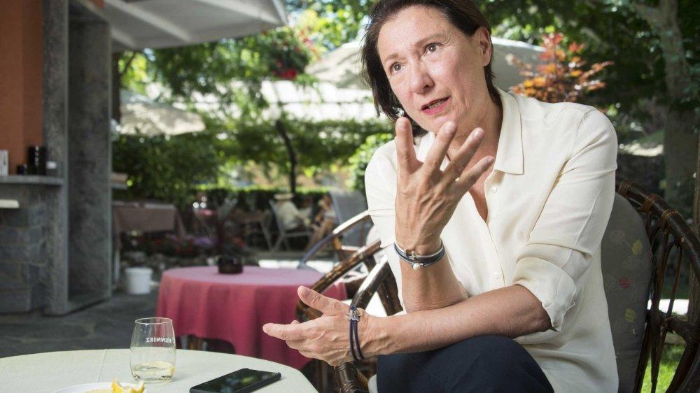 Valais: Romaine Jean candidate au Conseil de la magistrature