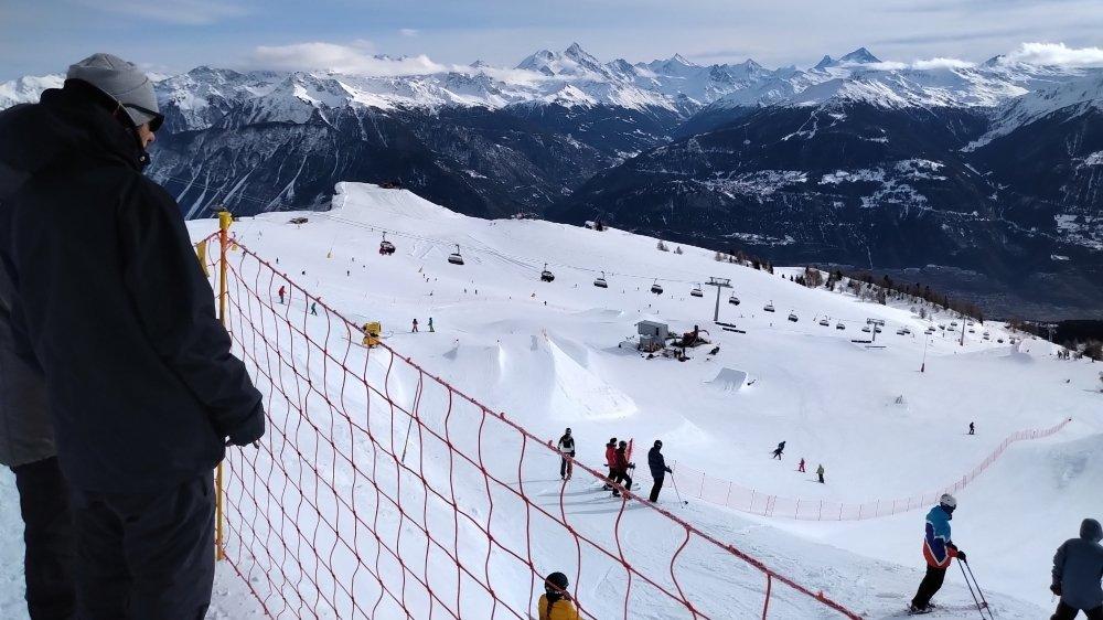 Les clients du Magic Pass pourront skier en basse saison à Crans-Montana, moyennant 149 francs.