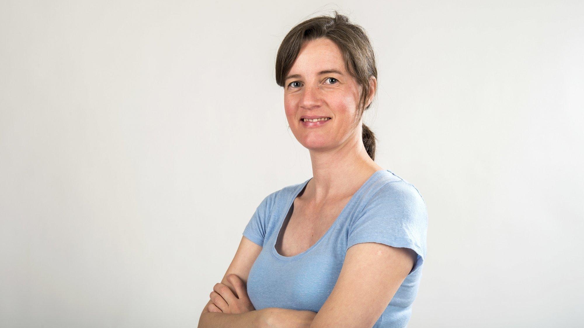 Marie Parvex, journaliste.
