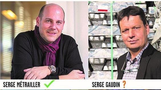 Le choix final du PDCVr pour son deuxième candidat au Conseil d'Etat risque de se faire entre Serge Métrailler et Serge Gaudin.