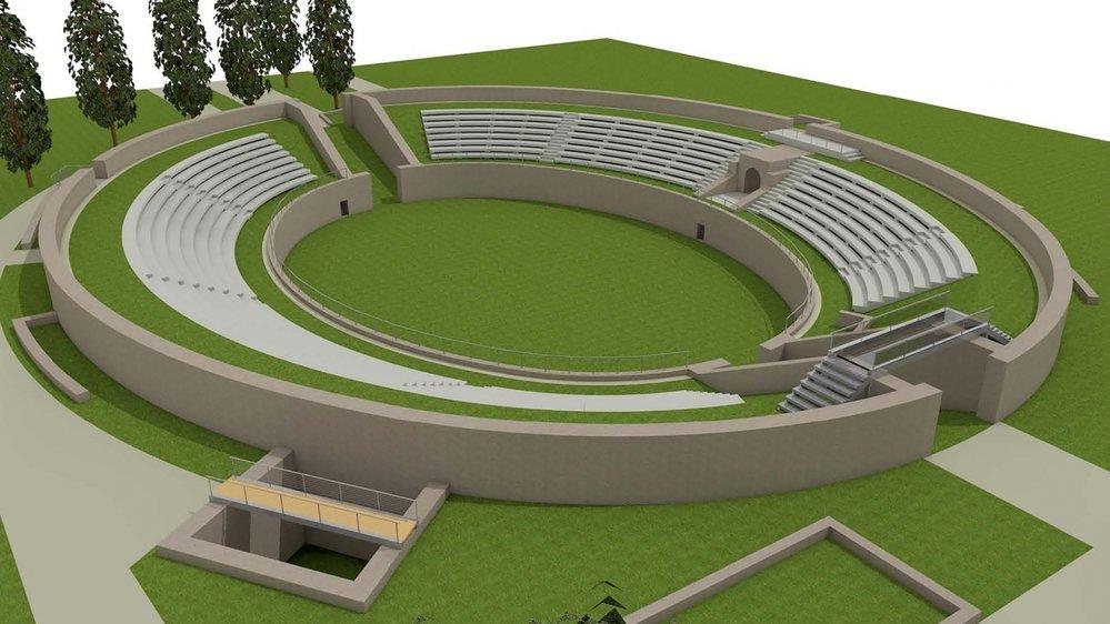 Monument antique exceptionnel, l'amphithéâtre de Martigny va bientôt arborer un nouveau visage.