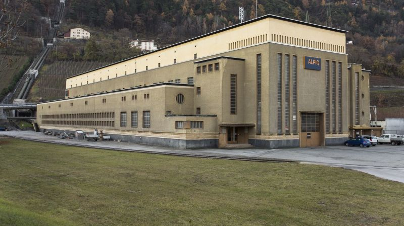 Architecture et patrimoine du XXesiècle en Valais: ouvrages d'art emblématiques d'une grande époque