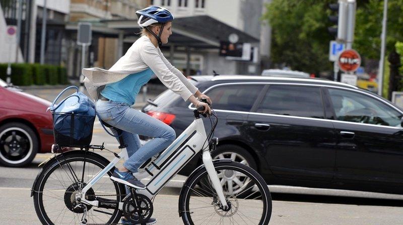 Les constats d'accident de la police montrent que l'utilisateur du vélo électrique est responsable de la collision dans seulement un tiers des cas. (illustration)