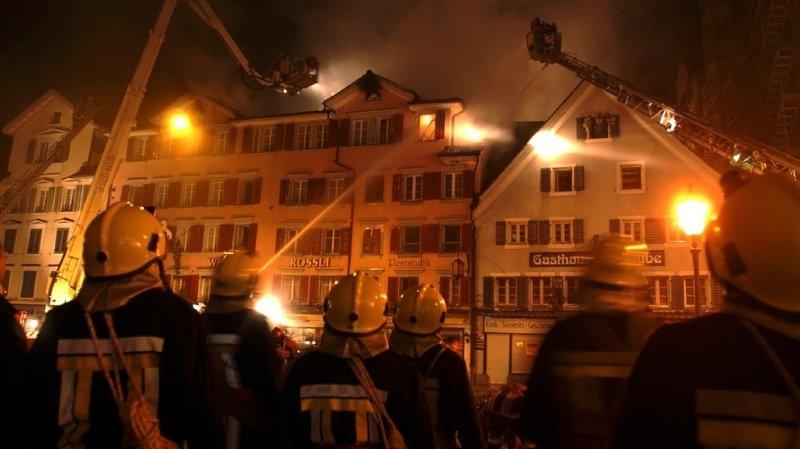 Incendie à Lucerne: plus de 40 personnes évacuées et deux blessés