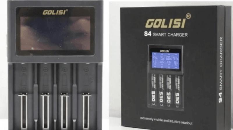 """Le rappel de produit concerne les chargeurs pour e-cigarettes """"Golisi S4 Smart Charger"""" avec écran LCD, qui ont été produits à partir de 2018."""