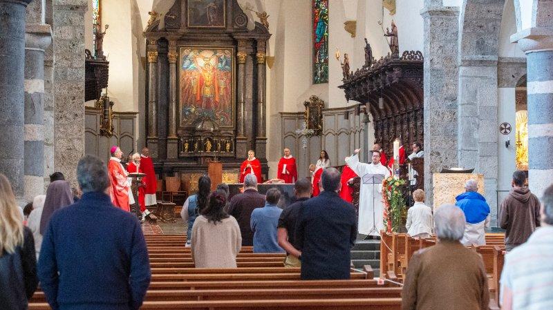 Valais: la joie retrouvée de célébrer la messe ensemble, malgré le coronavirus