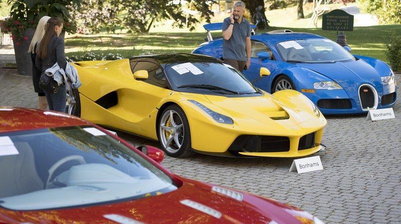 Les entrepreneurs sont repartis au volant de leur voiture de luxe.