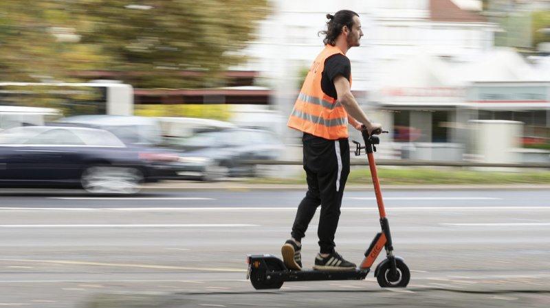 Mobilité: les trottinettes provoquent de plus en plus d'accidents