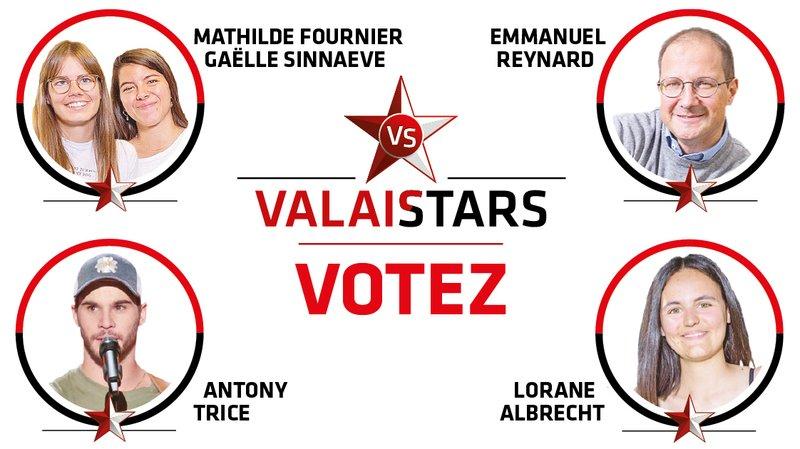 ValaiStars: élisez la personnalité du mois de juin