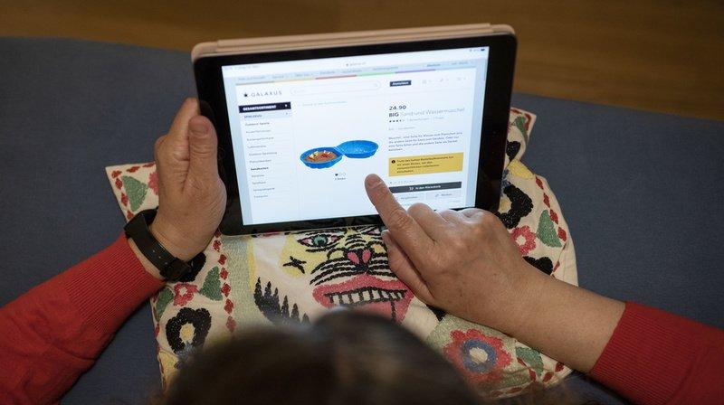La demande pour les produits en ligne a explosé au début de la pandémie. (Illustration)