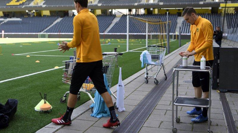 La majorité des clubs de Super League, dont Young Boys, ont repris le chemin de l'entraînement.
