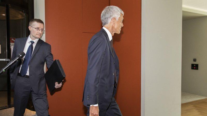 Affaire Lauber: plaintes déposées contre le procureur de la Confédération