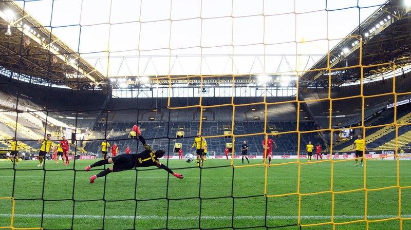 La Bundesliga a d'ores et déjà recommencé. Pour la plus grande joie du gardien suisse Roman Bürki.