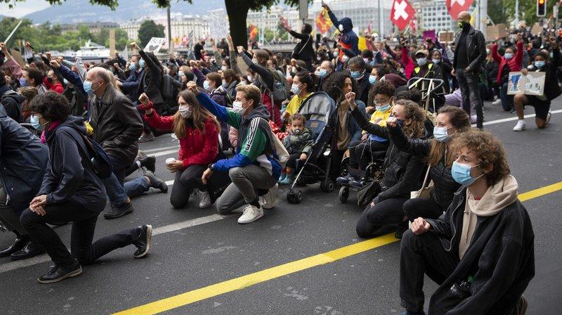 Plus de 10'000 manifestants contre le racisme à Genève