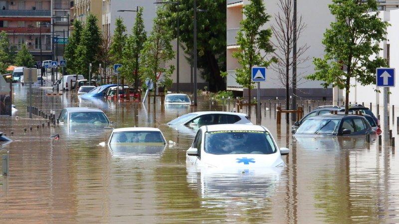 France: des pluies diluviennes provoquent d'importantes inondations en Corse