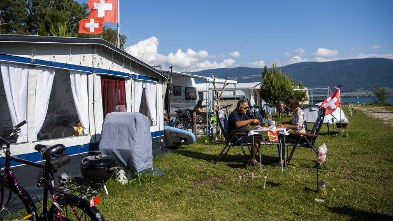 Tourisme: nuitées en hausse dans la parahôtellerie suisse en 2019