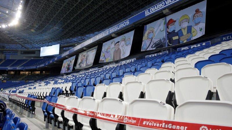 Coronavirus: le retour du public dans les stades de football n'est pas pour demain