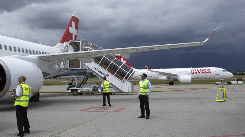Coronavirus: Swiss oblige dès lundi ses passagers à porter un masque