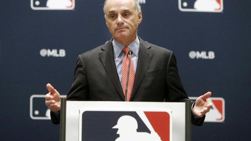 Le commissaire de la MLB, Rob Manfred, faisait face au média pour expliquer le sans-issue dans lequel se trouvent les joueurs, leur syndicat, les clubs et leurs propriétaires ainsi que les fans qui pourraient être privés de saison.