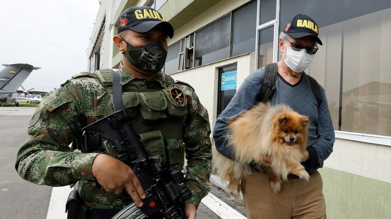 Colombie: un citoyen suisse retenu en otage a été libéré par l'armée