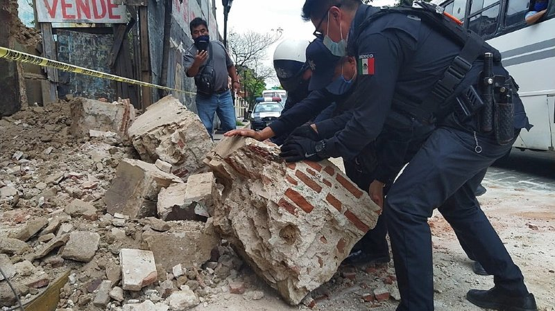 Mexique: un séisme fait au moins 6 morts en pleine crise sanitaire