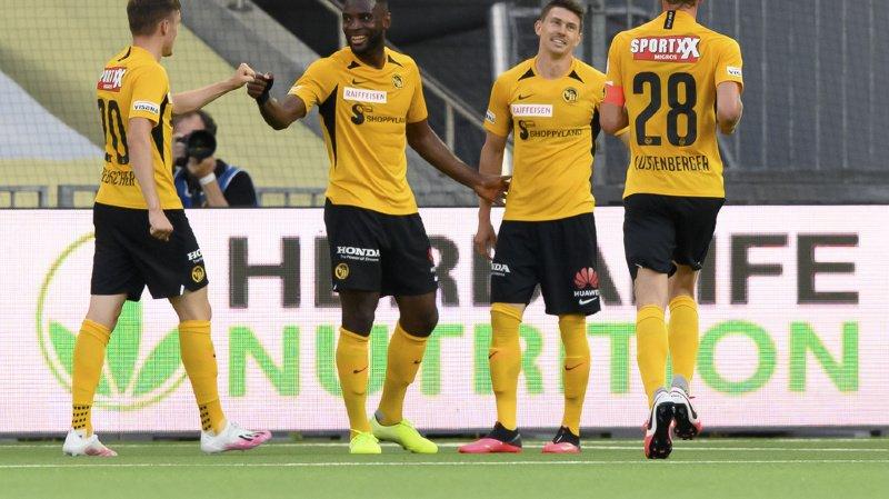 Football: Xamax s'est effondré en quelques minutes face aux Young Boys